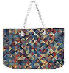 Pixel Art Weekender Tote Bag