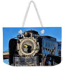 844 Locomotive Weekender Tote Bag