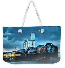 844 Night Train Weekender Tote Bag