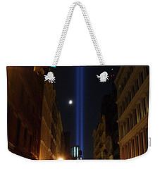 9-11-2013 Nyc Weekender Tote Bag by Jean luc Comperat