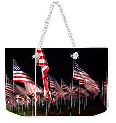 9-11 Flags Weekender Tote Bag
