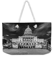 Weekender Tote Bag featuring the photograph Capitol Building by Peter Lakomy