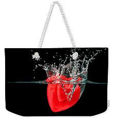 Heart Weekender Tote Bag by Peter Lakomy