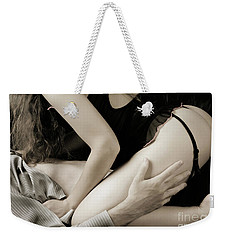 Young Couple Making Love Weekender Tote Bag