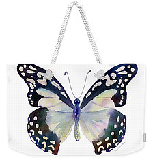 90 Angola White Lady Butterfly Weekender Tote Bag
