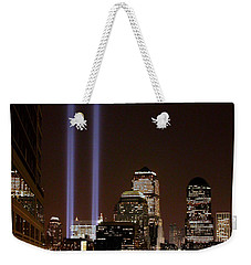 Weekender Tote Bag featuring the photograph 911 Anniversary by Gary Slawsky