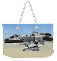 A-10 Thunderbolt II Weekender Tote Bag