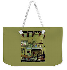 A 1920's Idea Of A Colonial Kitchen Weekender Tote Bag