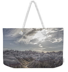 A Badlands Afternoon Weekender Tote Bag