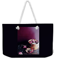 A Bamboo Steamer With Paper Packages Weekender Tote Bag