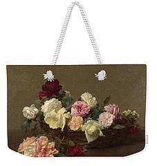 A Basket Of Roses Weekender Tote Bag