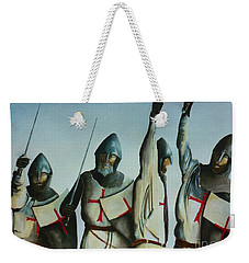 A Battle Won Weekender Tote Bag