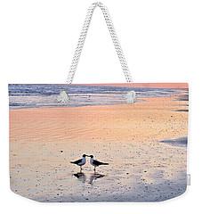 A Beach Romance Weekender Tote Bag