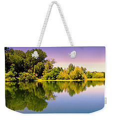 A Beautiful Day Reflected Weekender Tote Bag
