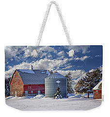 A Beautiful Winter Day Weekender Tote Bag