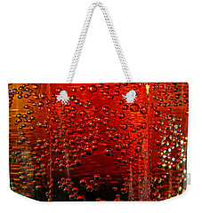 A Bit Of The Bubbly    Pepsi Weekender Tote Bag by Debbie Portwood