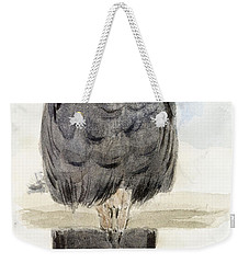 A Black Cockatoo Weekender Tote Bag by Henry Stacey Marks