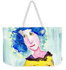 A Blue Day Weekender Tote Bag