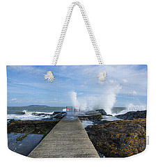 A Blustery Day At High Rock Weekender Tote Bag