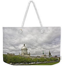 A Bonsecours Day  Weekender Tote Bag