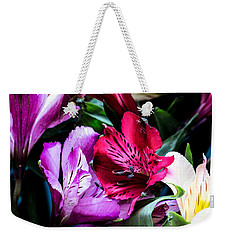 A Bouquet Of Peruvian Lilies Weekender Tote Bag