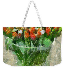 A Bouquet Of Tulips Weekender Tote Bag by Dragica  Micki Fortuna