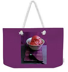 A Bowl Of Gelato Weekender Tote Bag