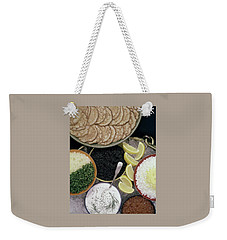 A Buffet With Blinis Weekender Tote Bag