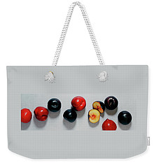 A Bunch Of Plums Weekender Tote Bag