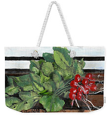 A Bunch Of Radishes  Weekender Tote Bag