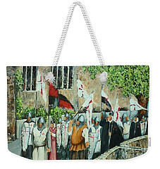 A Call To Arms Weekender Tote Bag