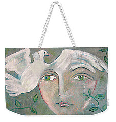 A Captured Young Emotion Weekender Tote Bag by John Keaton