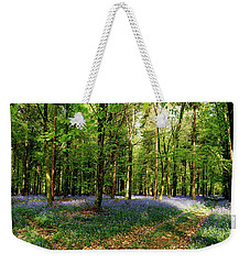 Weekender Tote Bag featuring the photograph A Carpet Of Colour by Wendy Wilton