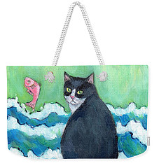 A Cat's Dream Interior Design Weekender Tote Bag