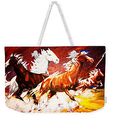 Unexpected Lighting Bolt Weekender Tote Bag
