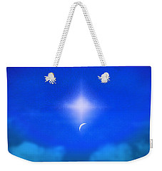 Weekender Tote Bag featuring the photograph Beautiful New Day In The Heavens by Kellice Swaggerty