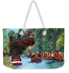 A Cheshire Canal Remembered Weekender Tote Bag