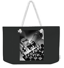 A Chess Set Weekender Tote Bag