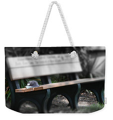 Weekender Tote Bag featuring the photograph A Child Somewhere In My Dreams by DigiArt Diaries by Vicky B Fuller