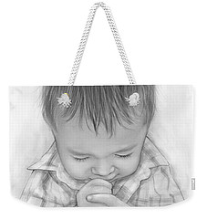 A Child's Payer Weekender Tote Bag