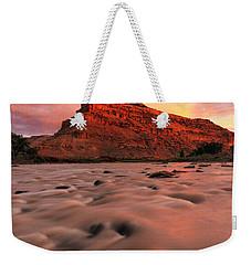 A Chocolate Milk River Weekender Tote Bag