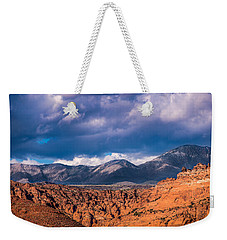 Weekender Tote Bag featuring the photograph A Choice Of Views by Onyonet  Photo Studios