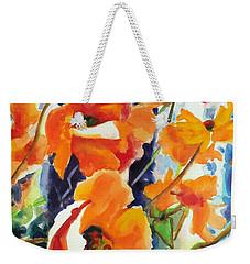 A Choir Of Poppies Weekender Tote Bag