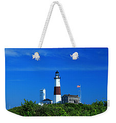 A Clear Day Weekender Tote Bag by Catie Canetti