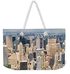 A Cloudy Day In New York City   Weekender Tote Bag