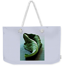 A Collard Leaf Weekender Tote Bag by Romulo Yanes