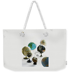 A Collection Of Globes Weekender Tote Bag