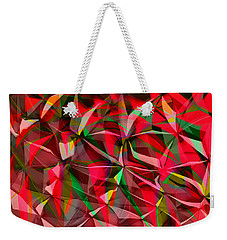 Colorful Shapes Blend Weekender Tote Bag