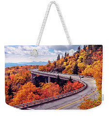 A Colorful Ride Along The Blue Ridge Parkway Weekender Tote Bag