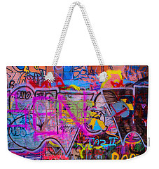 A Colourful Wall. Weekender Tote Bag